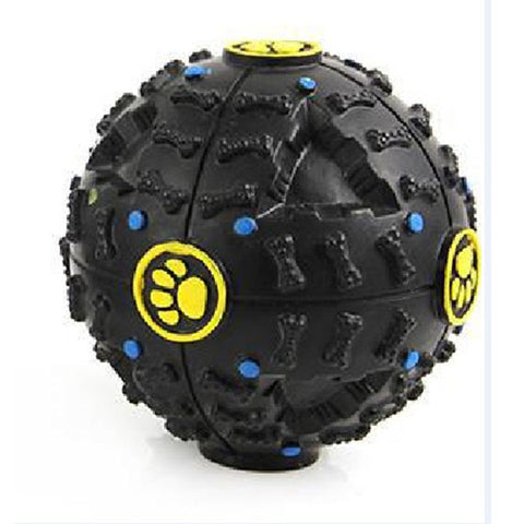 Image of Interactive Treat Dispensing Toy Ball Puzzle for Dogs, Puppies