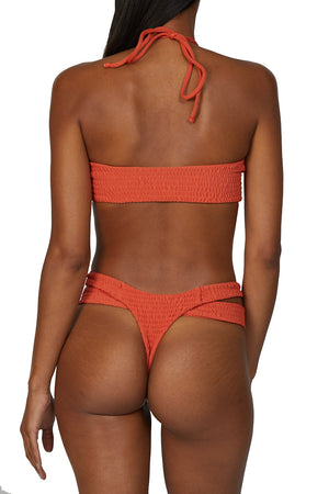 NALU Bottoms in Papaya