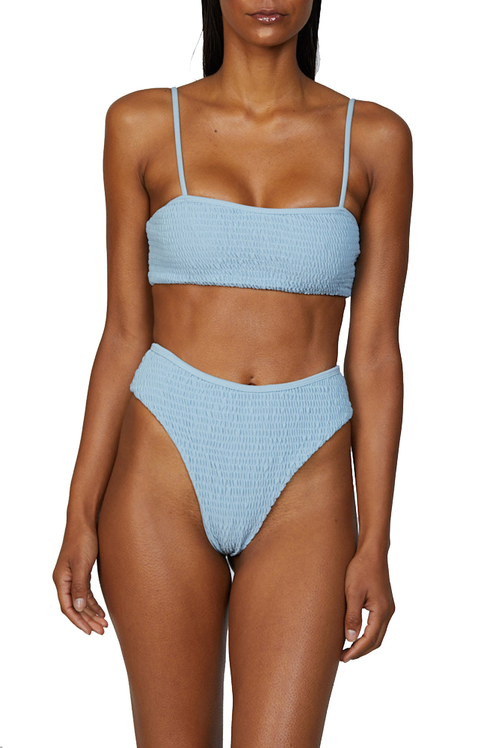 SOL Top in Light Blue