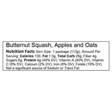 Butternut Squash, Apples and Oats