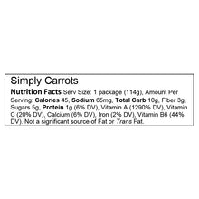 Simply Carrots – Stage 1