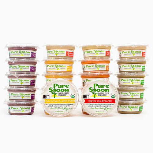 Stage 2 Baby Food Sampler (24-Pack)