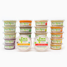 Pure Spoon Baby Food Sampler (Stage 1 and 2) - 22 Meals