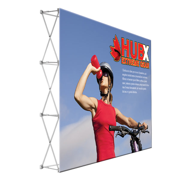 10ft Fabric Popup Display - Straight