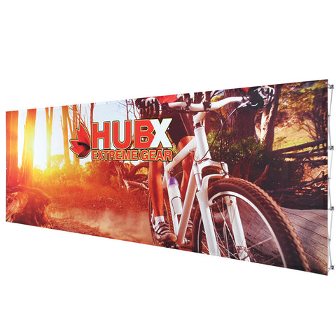 20ft Fabric Popup Display - Straight