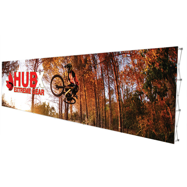 30ft Fabric Popup Display - Straight