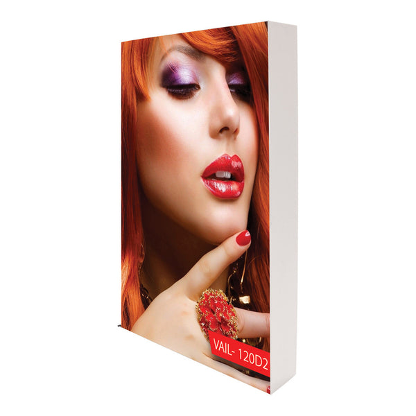 Fabric SEG - 120mm Frame - Double Sided Backlit