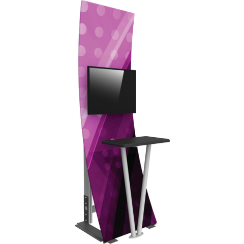 Tension Fabric Kiosk 1