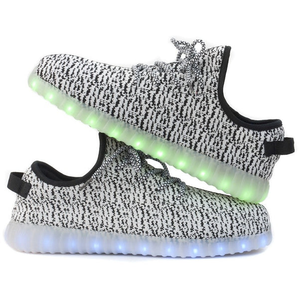 Light up Shoes-Gray/white