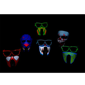 Light Up Sound Activated Mask #3
