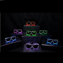 Load image into Gallery viewer, Light Up Rave Party Sunglasses-Pink