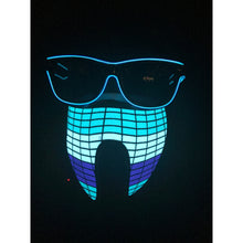 Load image into Gallery viewer, Light Up Sound Activated Mask #3