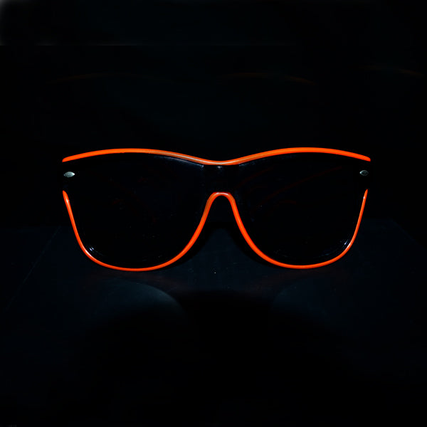 Light Up Rave Party Sunglasses-Red