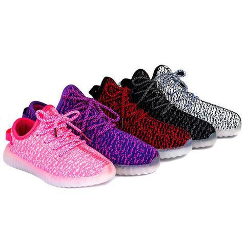 Light up shoes - Pink-Toddlers-Kids-Adults