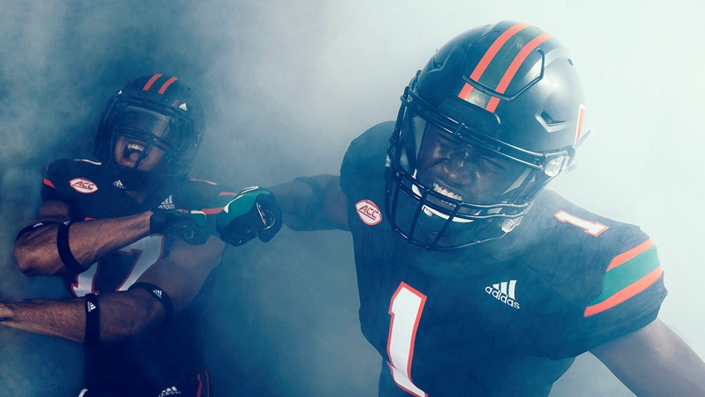 Miami Hurricanes All Black Errthaaaang!!