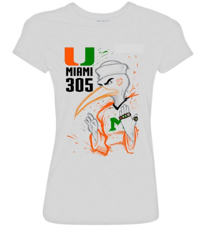 305-rings-womens-shirt