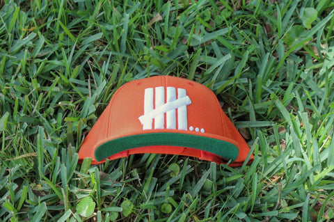 "DUH Nation ""5 & Counting"" Orange Snapback"
