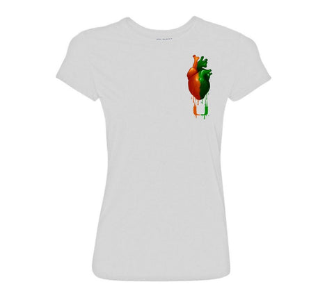 "Ladies  ""In My Blood"" University of Miami T-Shirt White"