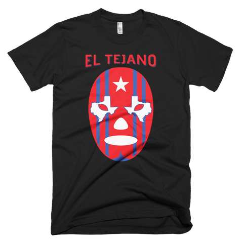 EL Tejano Texas Eyes T-Shirt (Black)