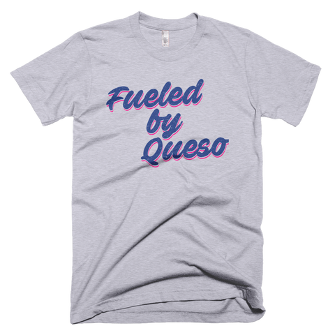 Fueled by Queso Graphic T-Shirt (Heather Grey)