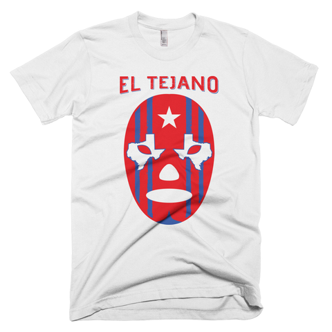 EL Tejano Texas Eyes T-Shirt (White)