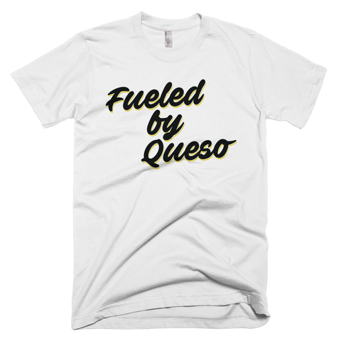Fueled by Queso Black/Yellow Graphic T-Shirt (White)