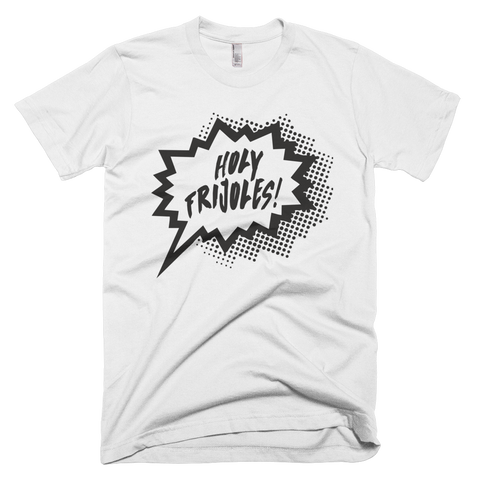 Holy Frijoles Black/White Graphic T-Shirt (White)