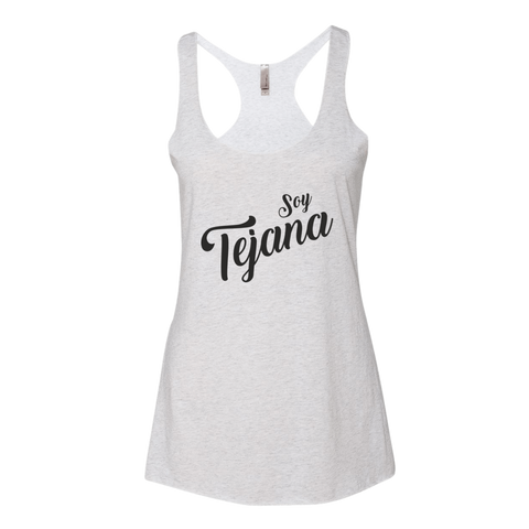 Soy Tejana Tank Top (Heather White)