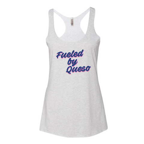 Fueled by Queso Tank Top (Heather White)