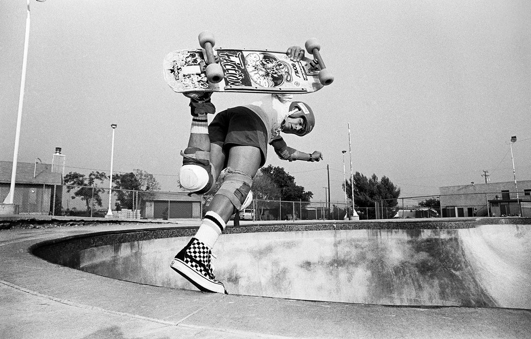 Steve Caballero Backside Boneless at Upland Photograph