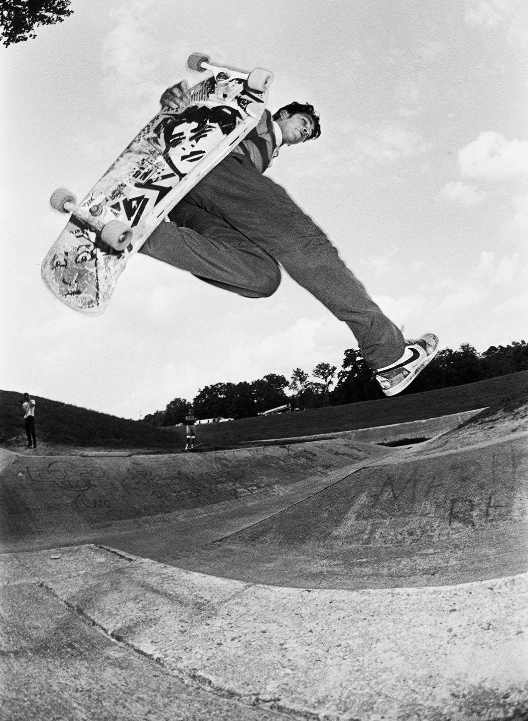 Mark Gonzales EZ-7 Ditch Houston Texas Skate Photo