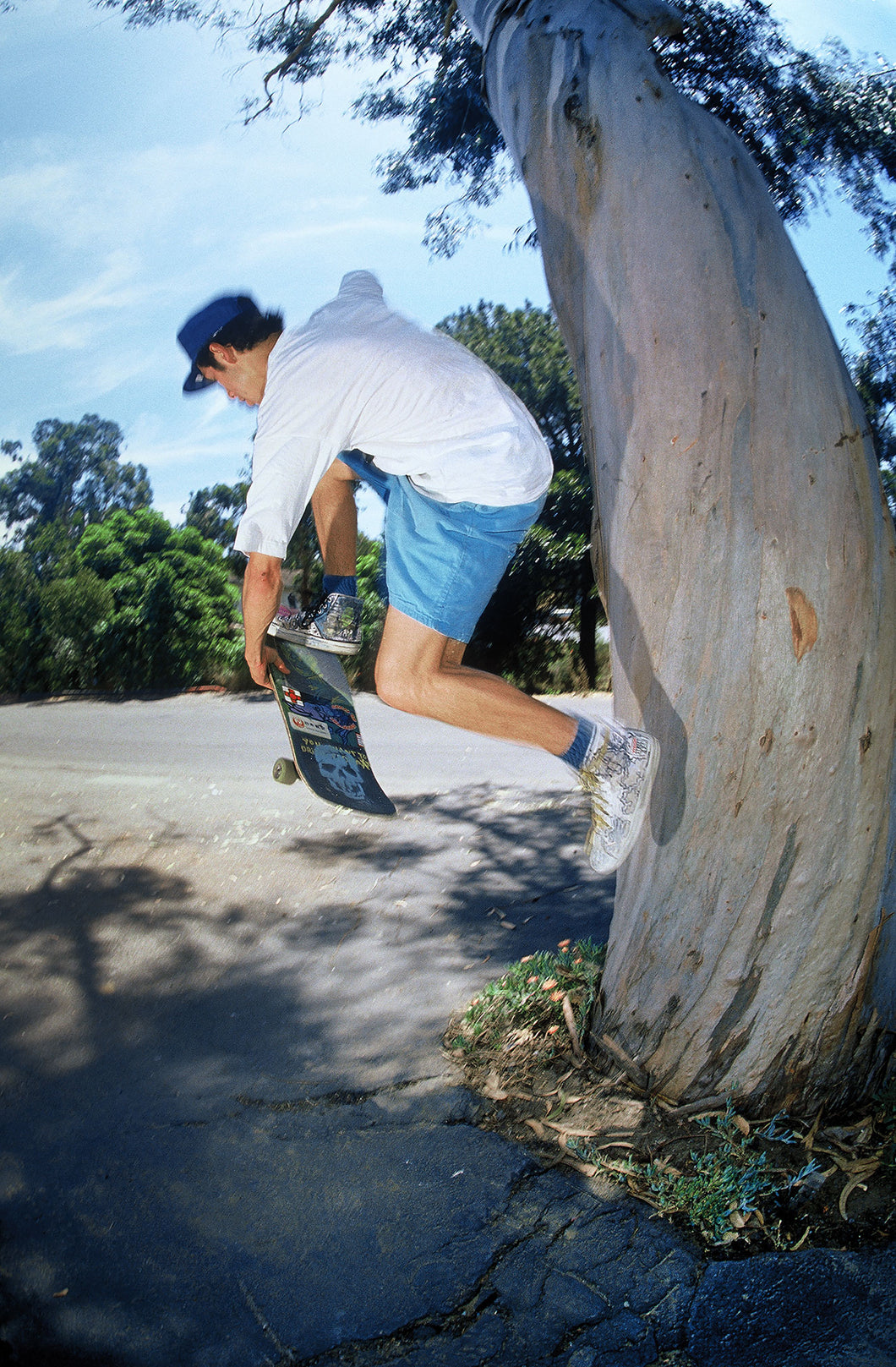 Mark Gonzales Tree Indy Fast Plant Laguna Beach 1988 Number 2 of 4