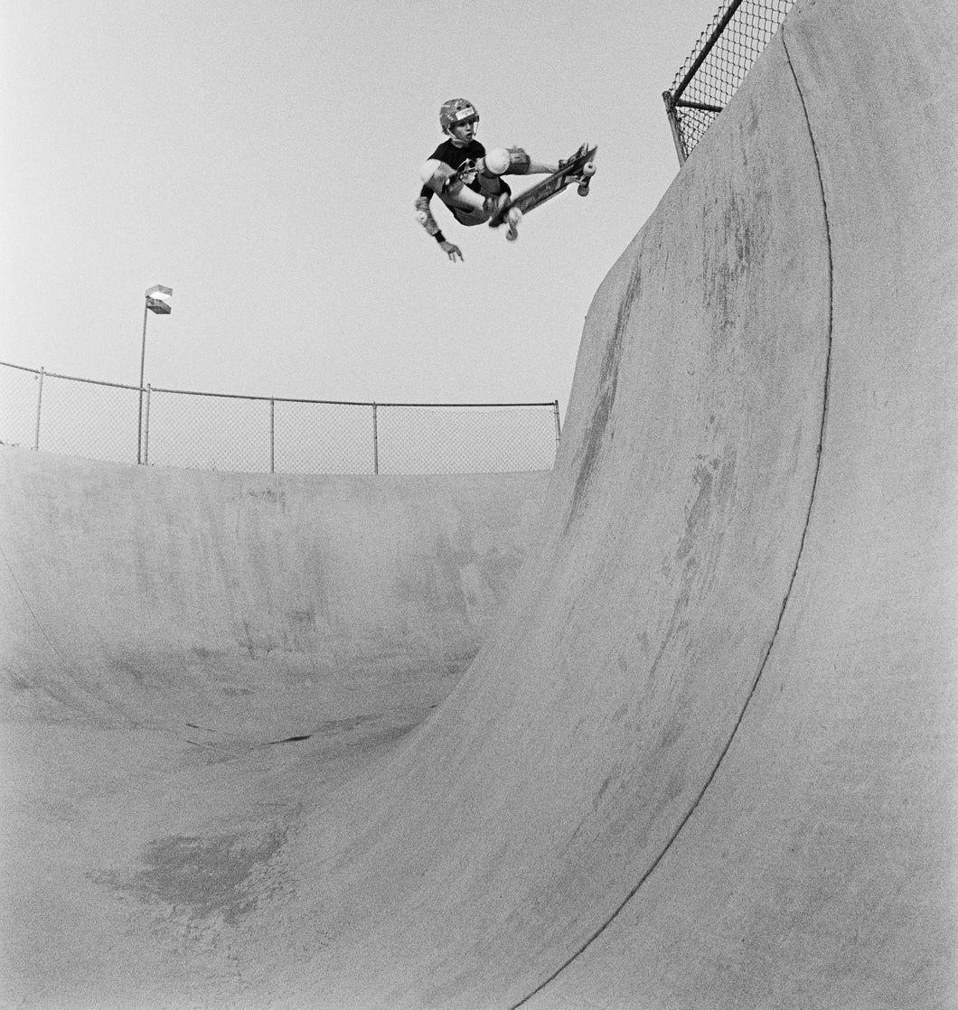 Tony Hawk Ollie Del Mar Half Pipe 1983 Photograph