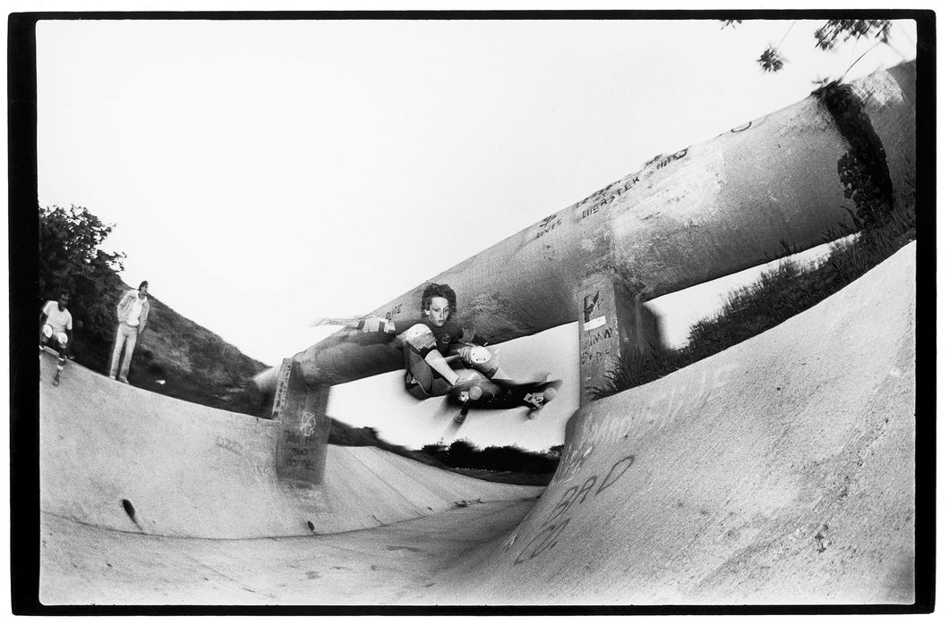 Tony Hawk Sanoland Ditch 1984 Skate Photo