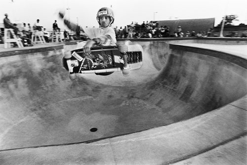 Tony Hawk Limited Release of 10 Prints Upland Combi Pool 1983