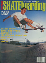 Matt Hensley San Pasqual High School from Transworld Cover Oct 1989