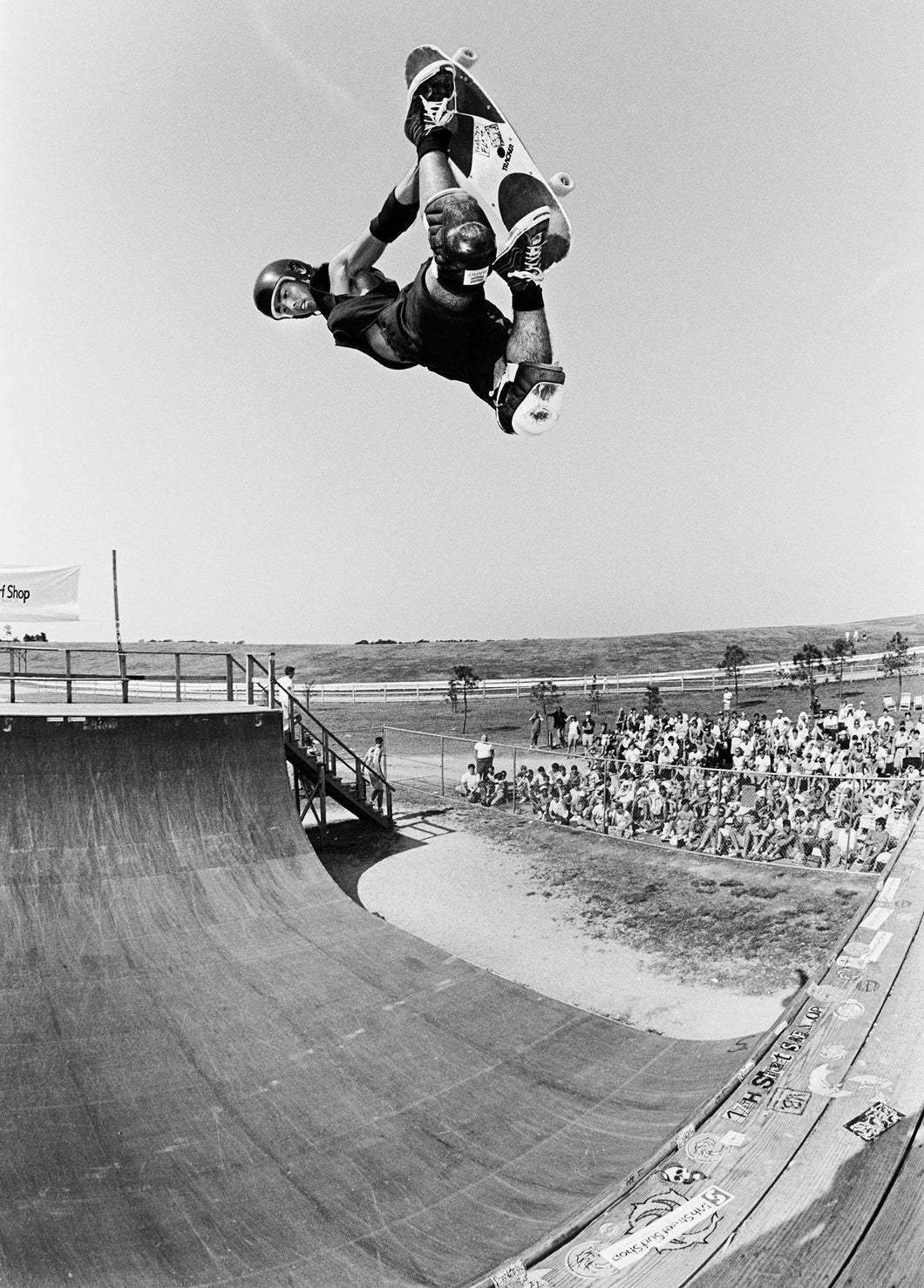 Lester Kasai 18X24 Virginia Beach Skateboarding Photograph