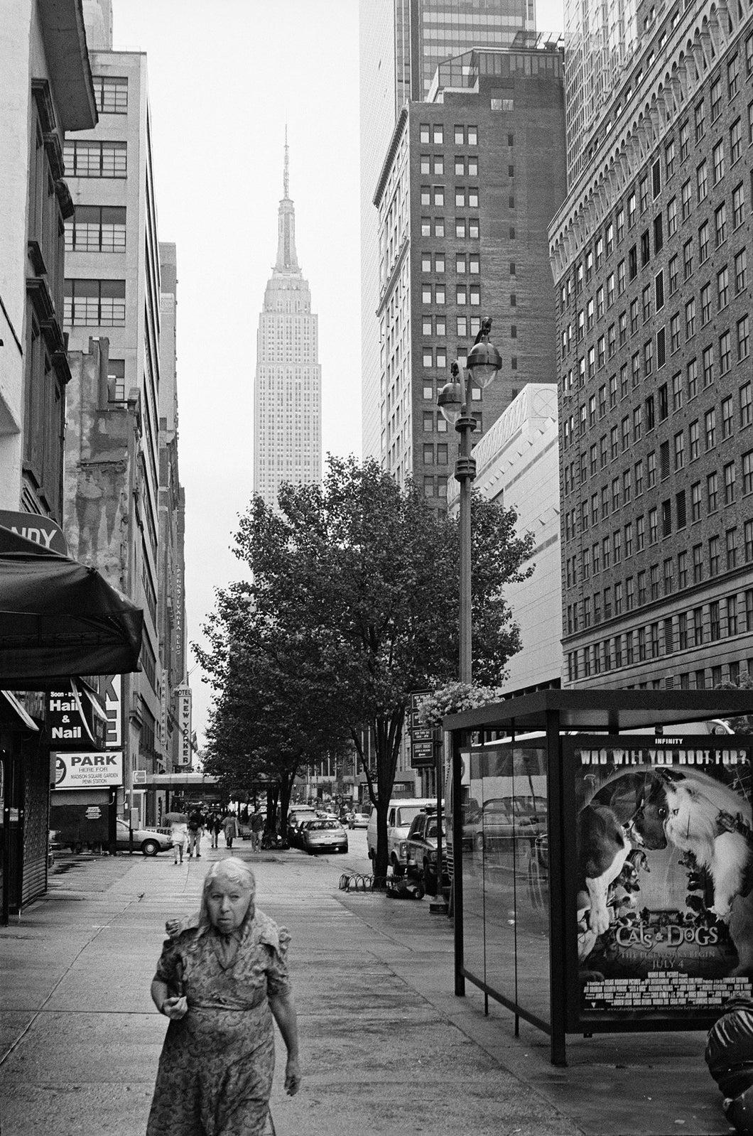 New York City Cold - Lady Walking Fine Art Photo Print 16X20