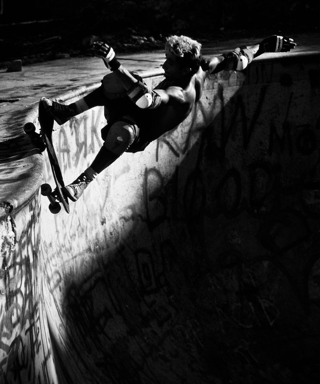Eddie Elguera Grind At Nude Bowl 1987