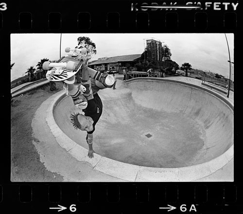 18 X 24 Owen Nieder Layback Air Eighties Skateboarding Photograph