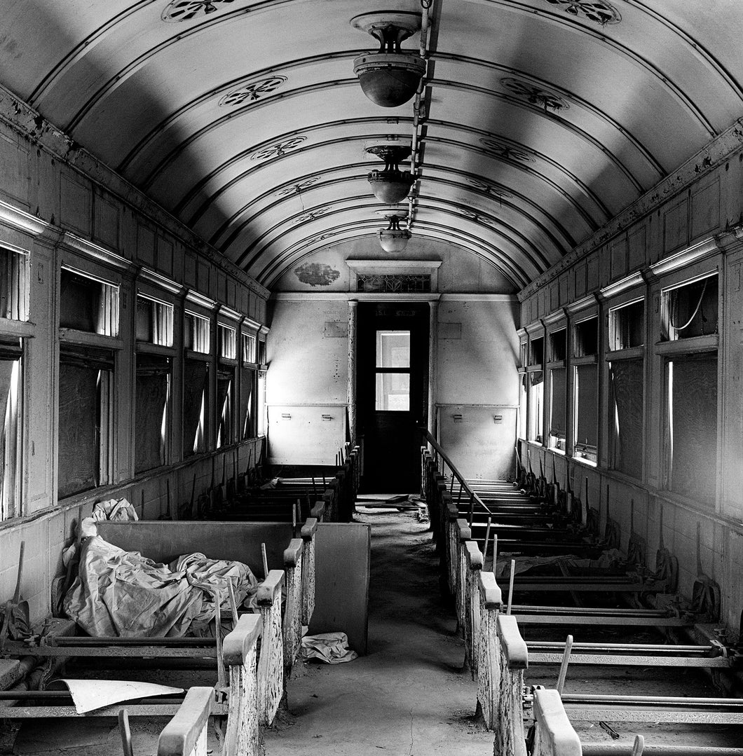 Perris Train Interior Fine Art Photo 16X20 Print