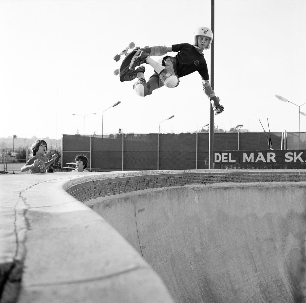 Tony Hawk Skateboarding Photo Del Mar Skate Ranch 1982 Grant Brittain
