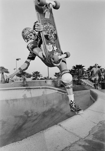 Tony Hawk Del Mar Skate Ranch Footplant Circa 1982 Photograph