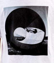 Skateboarding Photo T Shirt - Size Large White and Medium Gray - Chris Miller - Limited Release