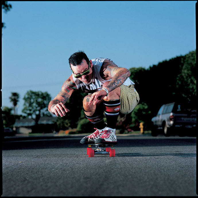 Duane Peters Skateboarding Photo 11X14