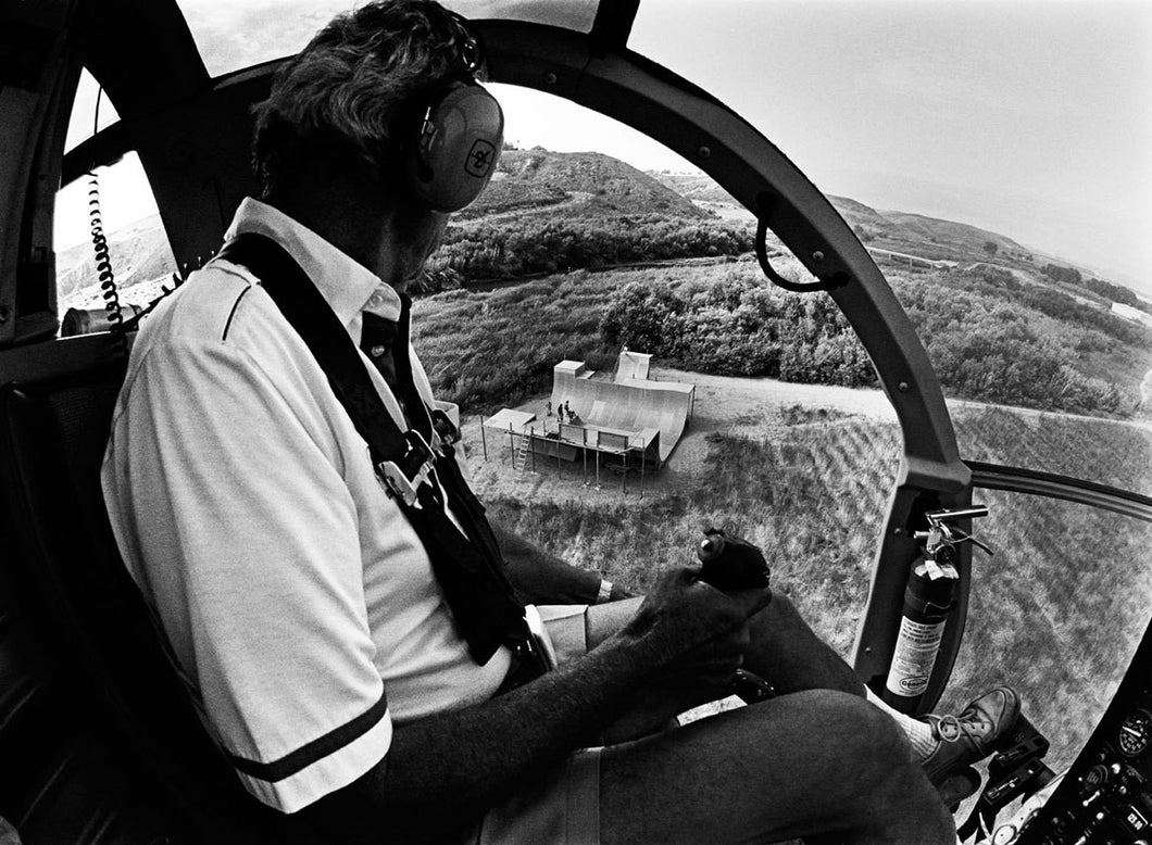 Bones Brigade Animal Chin Ramp Helicopter Photo, Hawk, Cab, McGill, Mountain, Guerrero