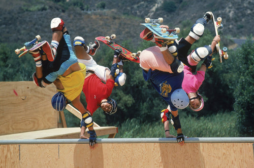 Eighties Bones Brigade Animal Chin Ramp Four Handplants