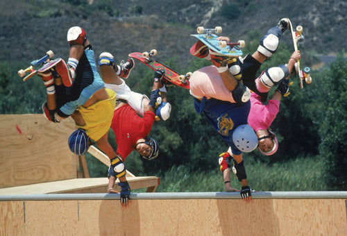 11x14, 16x20, 18x24 Eighties Bones Brigade Animal Chin Ramp Four Handplants Photo