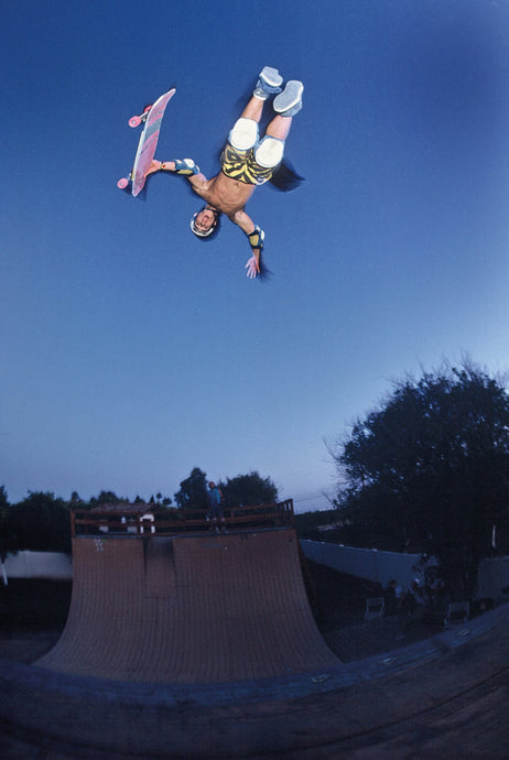 Christian Hosoi Christ Air Eighties Skateboarding Photograph