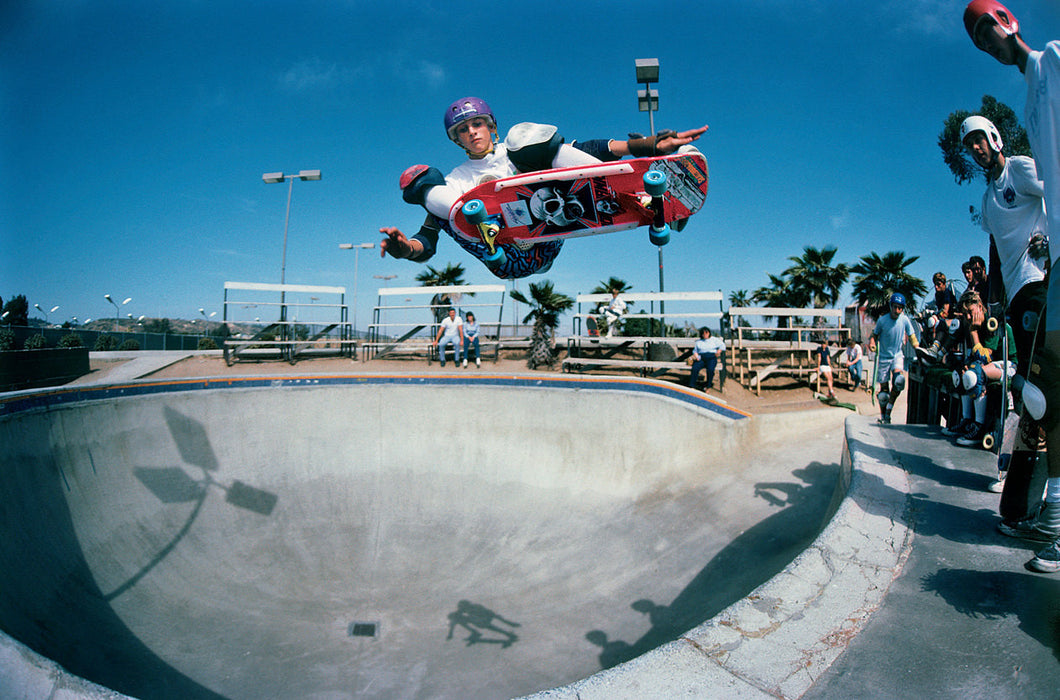 Tony Hawk Ollie Del Mar Photograph